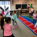 Image for the Tweet beginning: Students love to sing, dance,