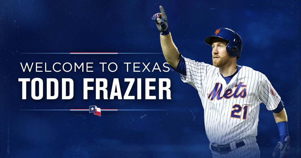 RT Rangers: The Toddfather is coming to Texas!