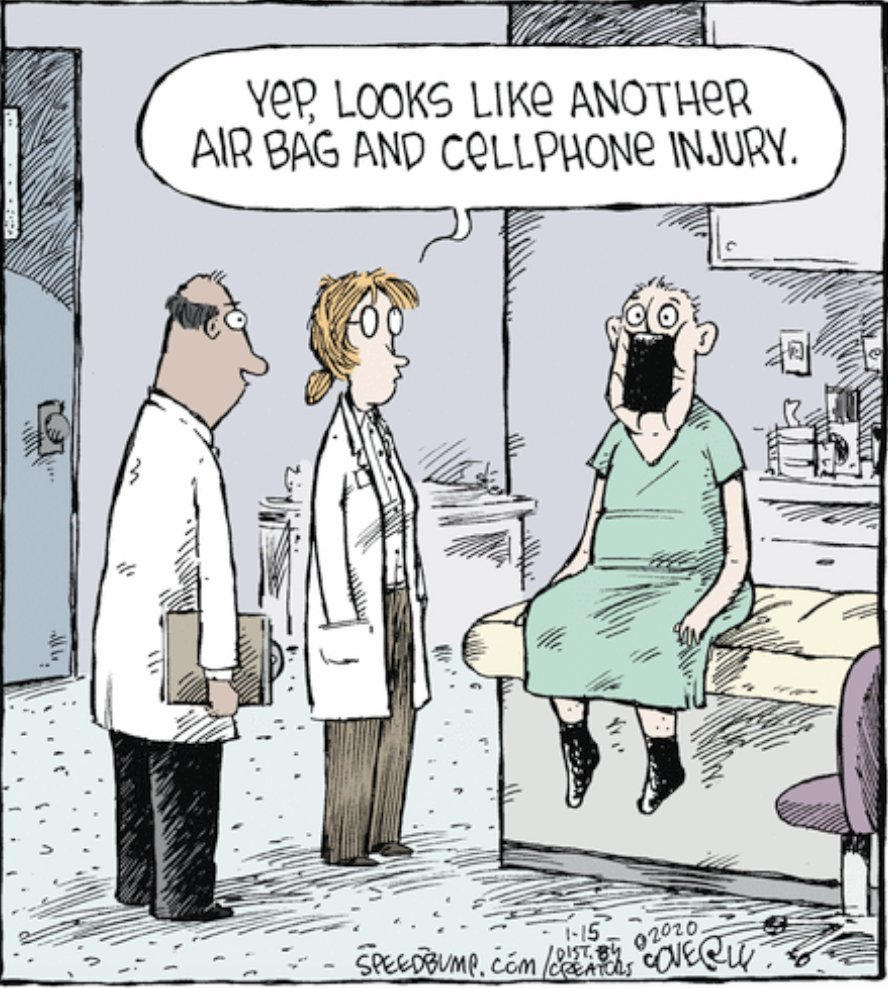 Today's medical encounters :-)