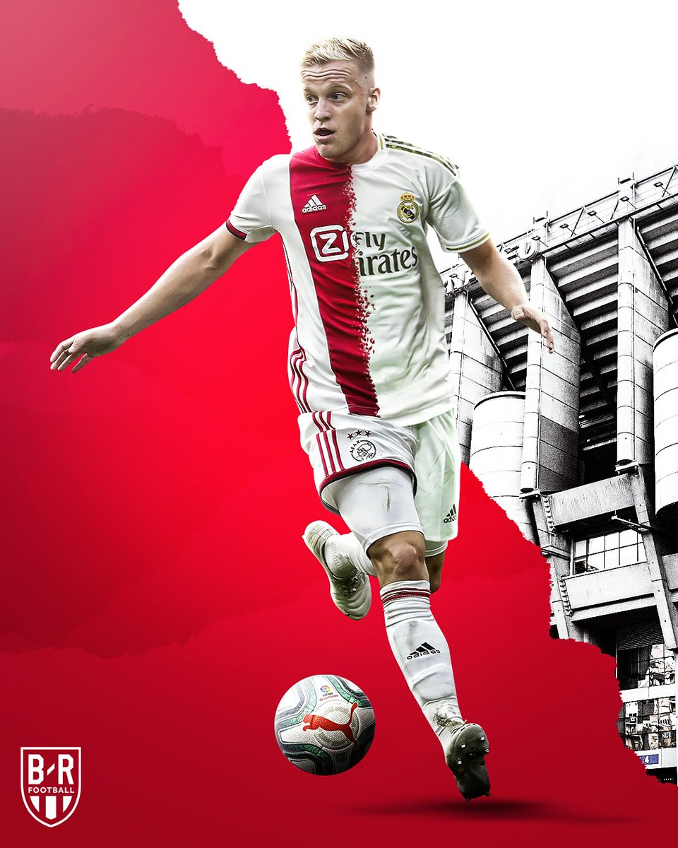 Real Madrid have reportedly agreed a €55M fee with Ajax for the transfer of Donny Van de Beek in June 🇳🇱 (De Telegraaf)
