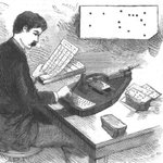 Image for the Tweet beginning: Inventor Herman Hollerith created an