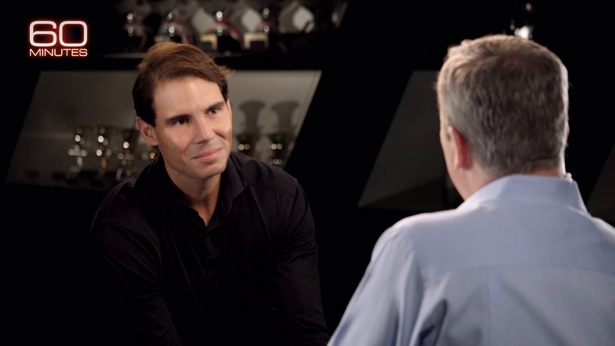 What does @RafaelNadal think of his greatest rival Roger Federer? cbsn.ws/2FUiGwG