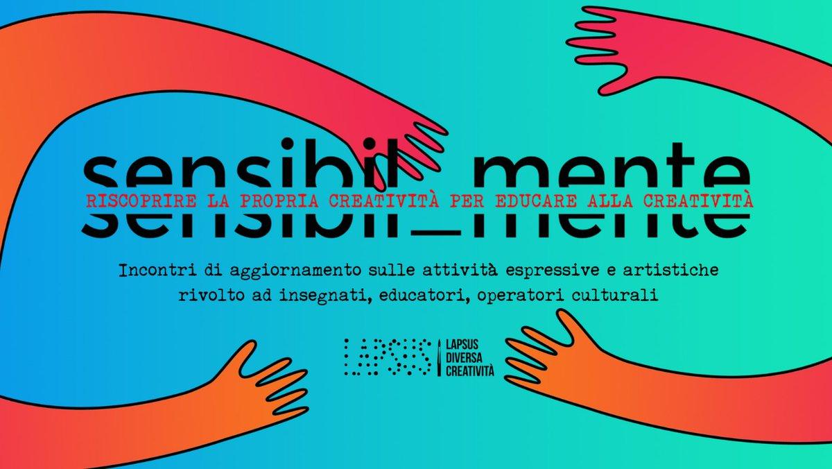 Sensibil_Mente, riscoprire la propria creatività per educare alla creatività http://dlvr.it/RN5HNppic.twitter.com/Sk1lPLjJ3U