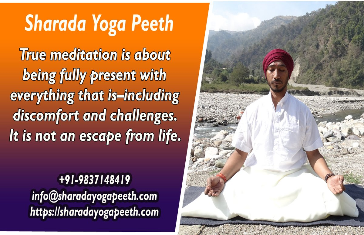 The body is your temple. Keep it pure and clean for the soul to reside in.  Visit us: https://sharadayogapeeth.com/  #yoga #fitness #meditation #yogalife #yogainspiration #300houryogattc #500hoursyogattc #ttcrishikesh #yogarishikesh #ashtangayoga #feelyoga #sharadayogapeethpic.twitter.com/CiWQ6mX2YW