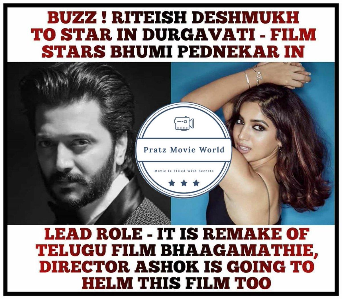 DURGAVATI #riteshdeshmukh #bhumipednekar #upcomingmovies #2020 #moviemasala #remake #star #cast #awesome #likeforlikes #follow4followback #followers #liked pic.twitter.com/hchxO6hZDV