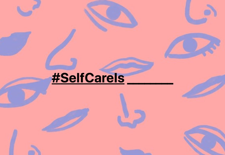What ways will you strive for better self care in 2020? #SelfCareIs