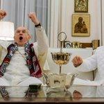 Image for the Tweet beginning: 🎥『2人のローマ教皇』観た キリスト教の世界。伝統や儀式、歴史。日本人にとってファンタジーのような少し遠い世界の話。だからこその未知なる世界でゾクゾクした。バチカン美しすぎ。とは言え、教皇であっても神ではなく1人の人間でサッカーもピザも食べるのです。実話を知ると更に面白い。