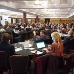A very interesting and thought provoking day at the well attended @constructingexc Annual Conference today for #Homeof2030 - discussing procuring for value and innovative technology with the assembled delegates #CE2020focus