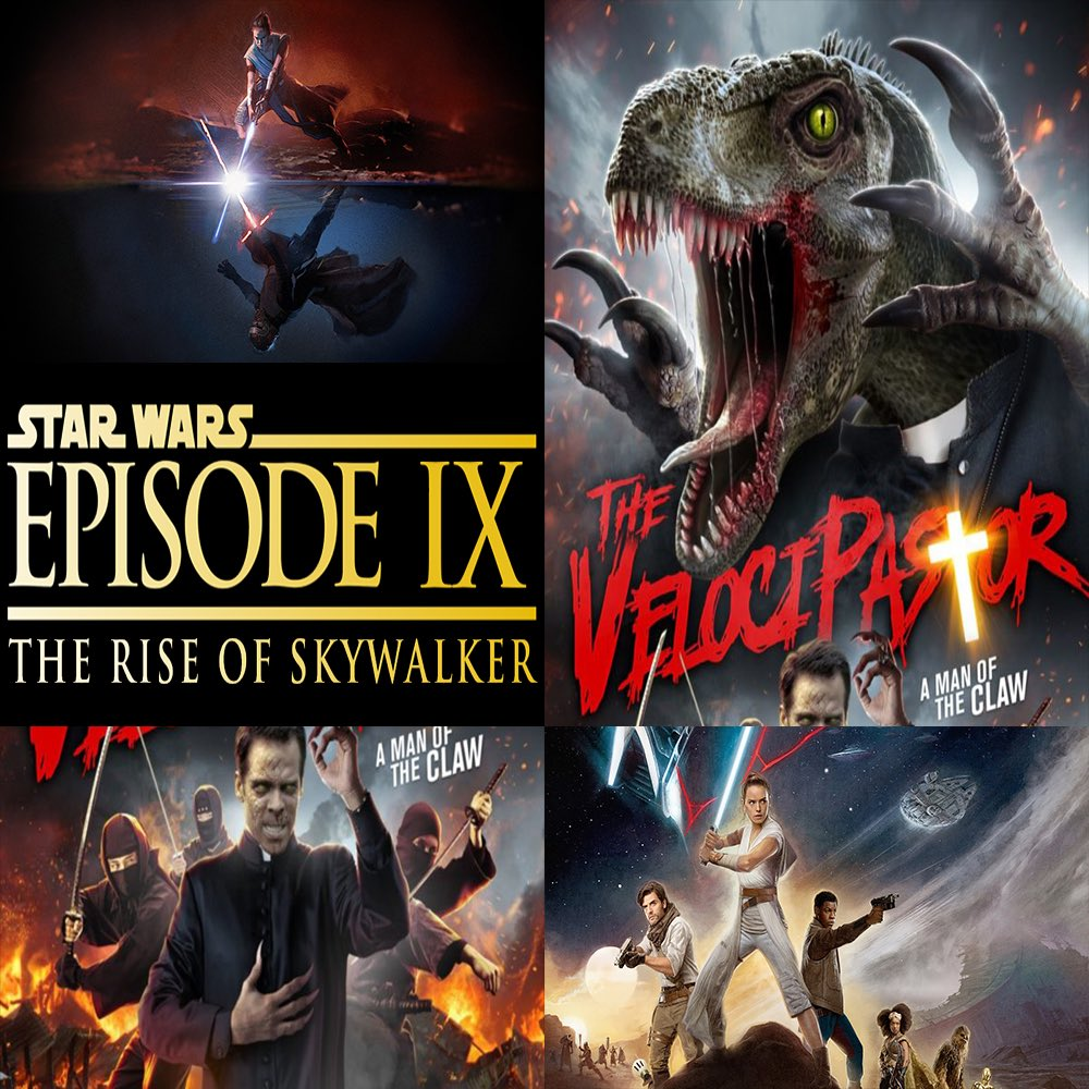 #ThisWeek in #Film, join Nick & Midwest Matt as they discuss #StarWars #EpisodeIX #TheRiseOfSkywalker & #TheVelociPastor.   Click here to listen -> http://thisweekinfilm.libsyn.com/week-145-star-wars-episode-ix-the-rise-of-skywalker-2019-the-velocipastor-2018…  #podcast, #podcasting, #podernfamily, #podcasts, #filmpod, #movies, #moviepodcast, #movie,pic.twitter.com/SeCxwdNbOZ