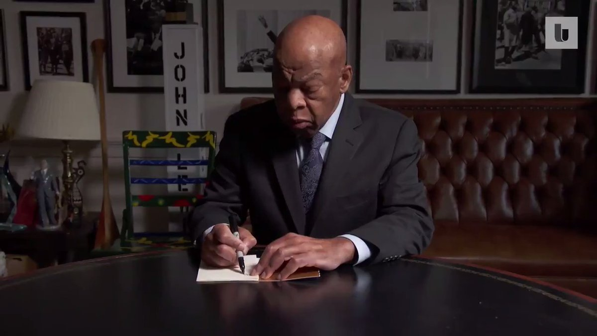 Before John Lewis became a civil rights luminary, he was a 17-year-old student seeking advice from Martin Luther King Jr. King answered the letter, and they soon began a relationship that changed their lives.
