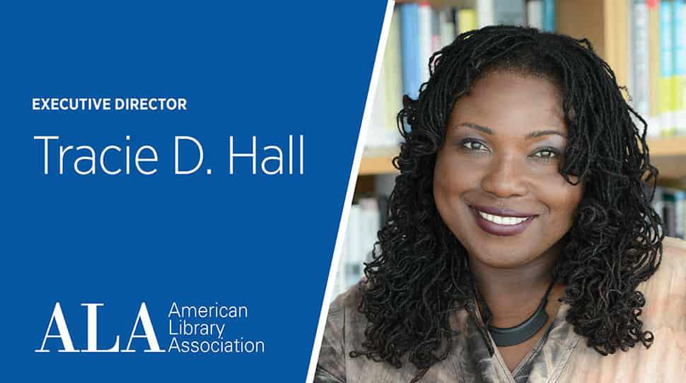 Meet Tracie D. Hall, ALA's new executive director! bit.ly/3ac3lp4