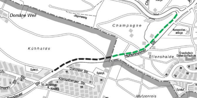 Die Städte #Esslingen und Ostfildern bauen gemeinsam einen Radweg entlang der Hohenheimer und Breslauer Straße. Bis Anfang Juli soll der Radweg, der insgesamt etwa 800.000 Euro kostet, fertiggestellt sein. https://bit.ly/2No8CA7pic.twitter.com/kOALG2eMNB