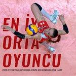 Image for the Tweet beginning: 2020 CEV Tokyo Olimpiyatları Avrupa