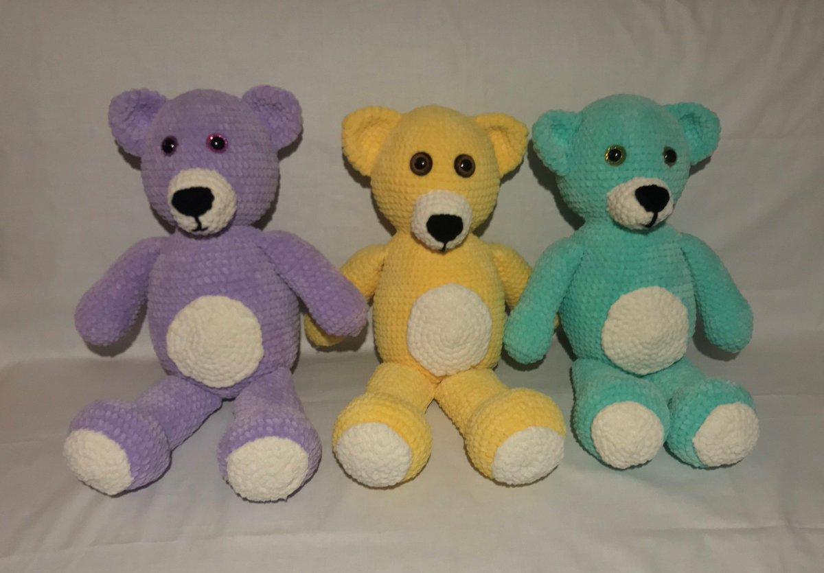 Crochet Teddy Bear Written Pattern and Video | 835x1199