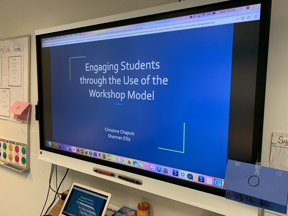 Talking to teachers in all content areas about the benefits of using a workshop structure to engage students <a target='_blank' href='http://twitter.com/APSGunston'>@APSGunston</a> <a target='_blank' href='https://t.co/A88ubMxQQP'>https://t.co/A88ubMxQQP</a>