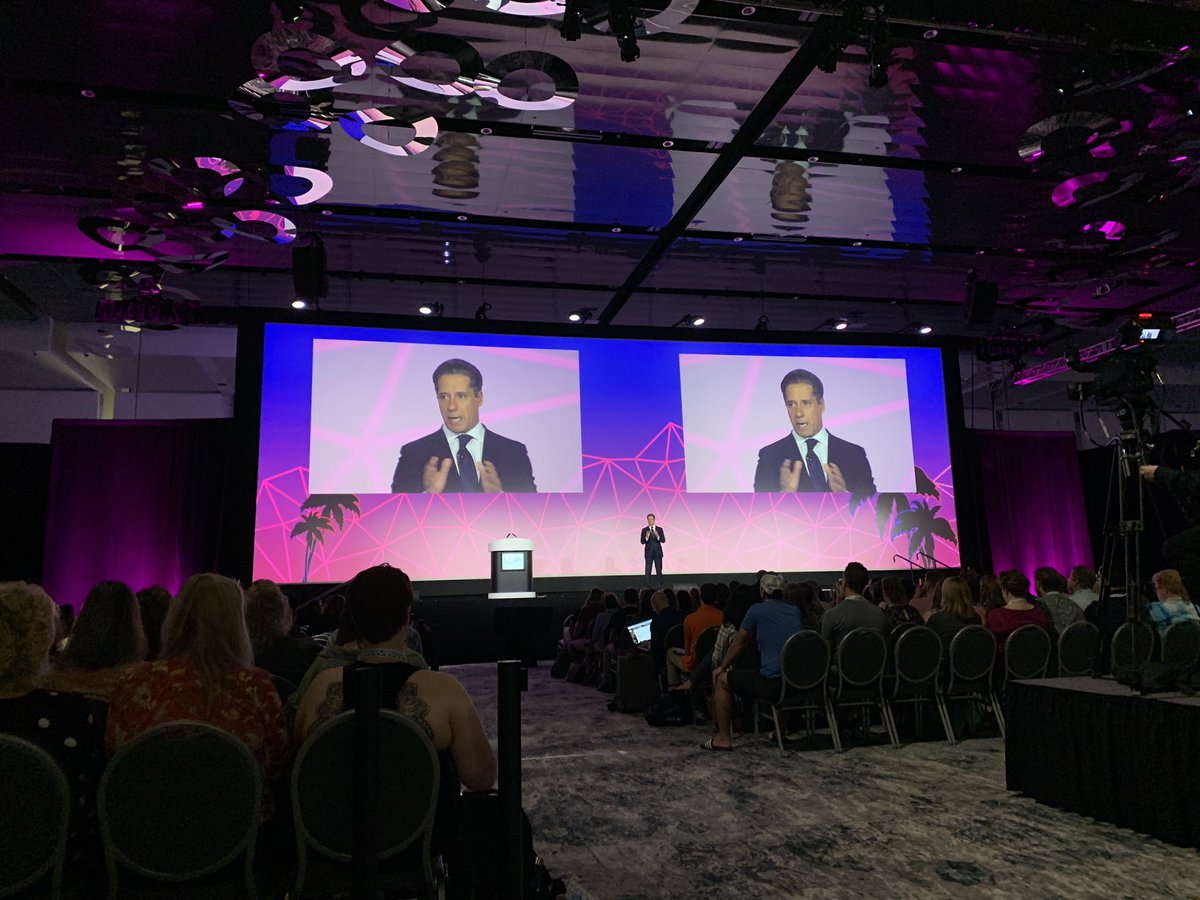 """""""Technology alone is not the answer to closing opportunity gaps. Technology with human intuition and inspiration is."""" @MiamiSup #FETC <br>http://pic.twitter.com/Y6955sPvn1"""