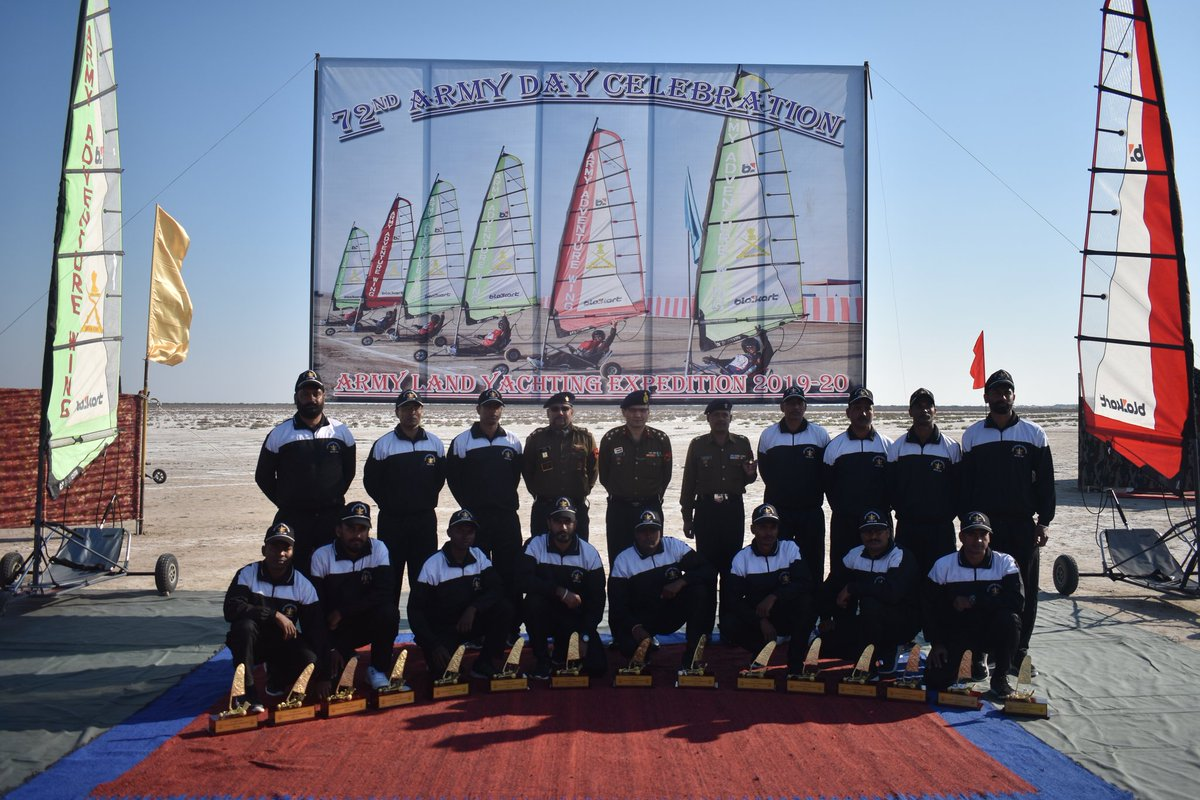 Indian Army conducts Land Yatching expedition in Rann of Kutch