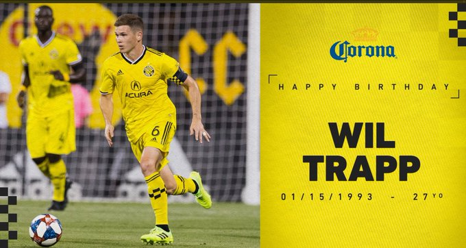 Happy Birthday to our Captain, Wil Trapp!