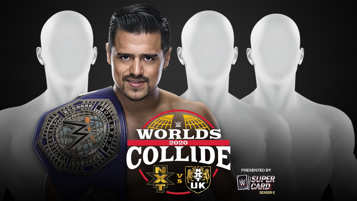 WWE NXT Cruiserweight Title Fatal 4 Way At Worlds Collide, Opponents To Be Revealed Tonight