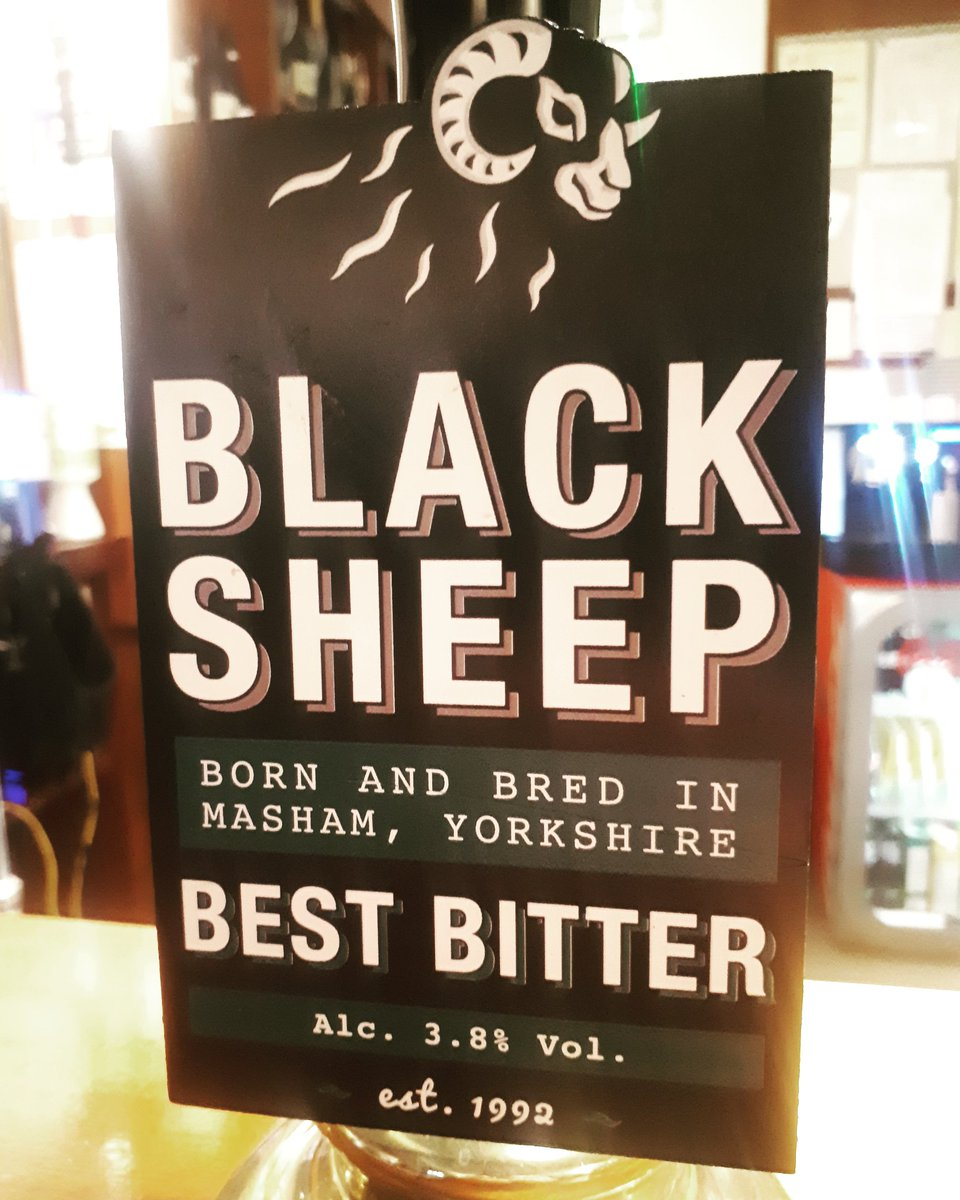 This mighty bitter has returned to the bar... 🍻@BlackSheepBeer #everydayisabeerfestival #beer #nowserving #onthebar #local #localale #localbrew