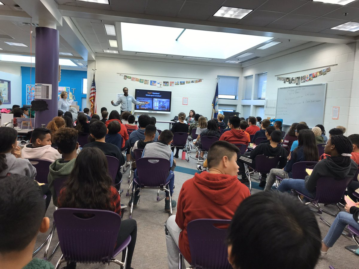 We had the privilege of hosting the ELA 6 Journalism panel on Fact versus Opinion. What an amazing opportunity for our students! <a target='_blank' href='http://twitter.com/freshbrewedit'>@freshbrewedit</a> <a target='_blank' href='http://twitter.com/APSGunston'>@APSGunston</a> <a target='_blank' href='http://twitter.com/PearsonLearn'>@PearsonLearn</a> <a target='_blank' href='https://t.co/CZcdKoXPlr'>https://t.co/CZcdKoXPlr</a>