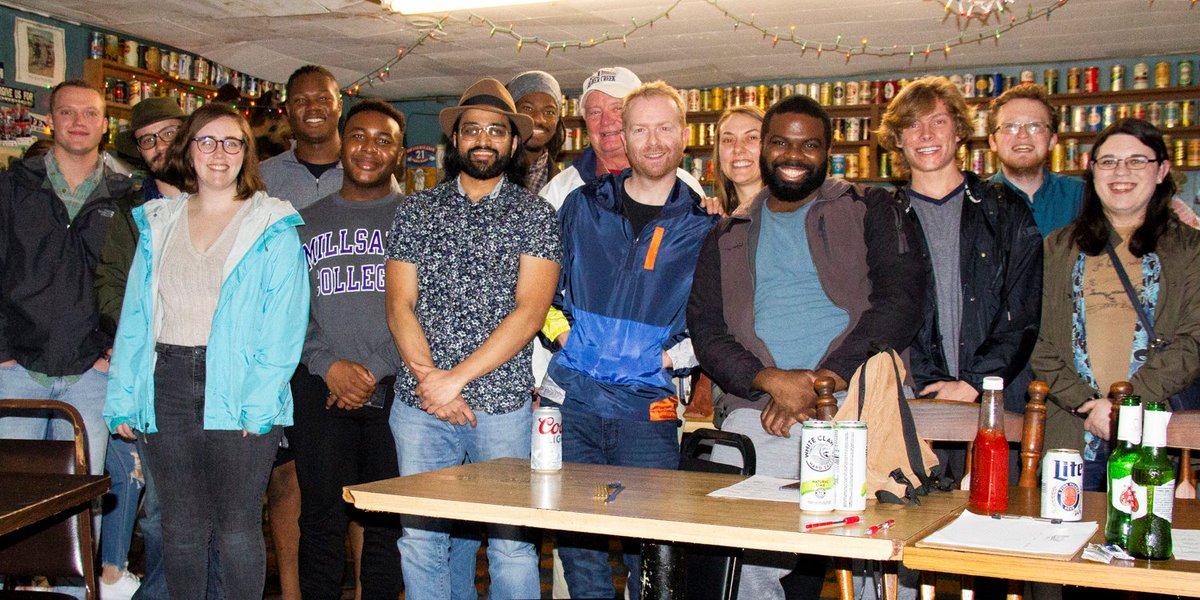 We had a great time at the Jackson, MS Debate Watch Party at CS's. In attendance were new voters preparing to participate in their first presidential election, non-#Bernie supporters, and of course #Bernie2020 volunteers! Congrats to Runal on his first event as a Victory Captain!
