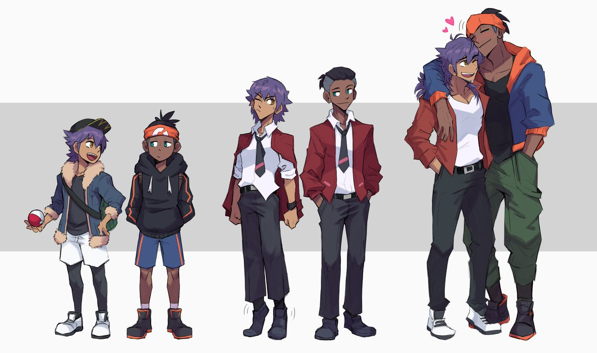 their height difference gives me life  #Leon #Raihan #PokemonSwordShield <br>http://pic.twitter.com/FysTh36oh6
