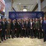 Image for the Tweet beginning: TVF Başkanı Üstündağ, Spor Kulüpleri