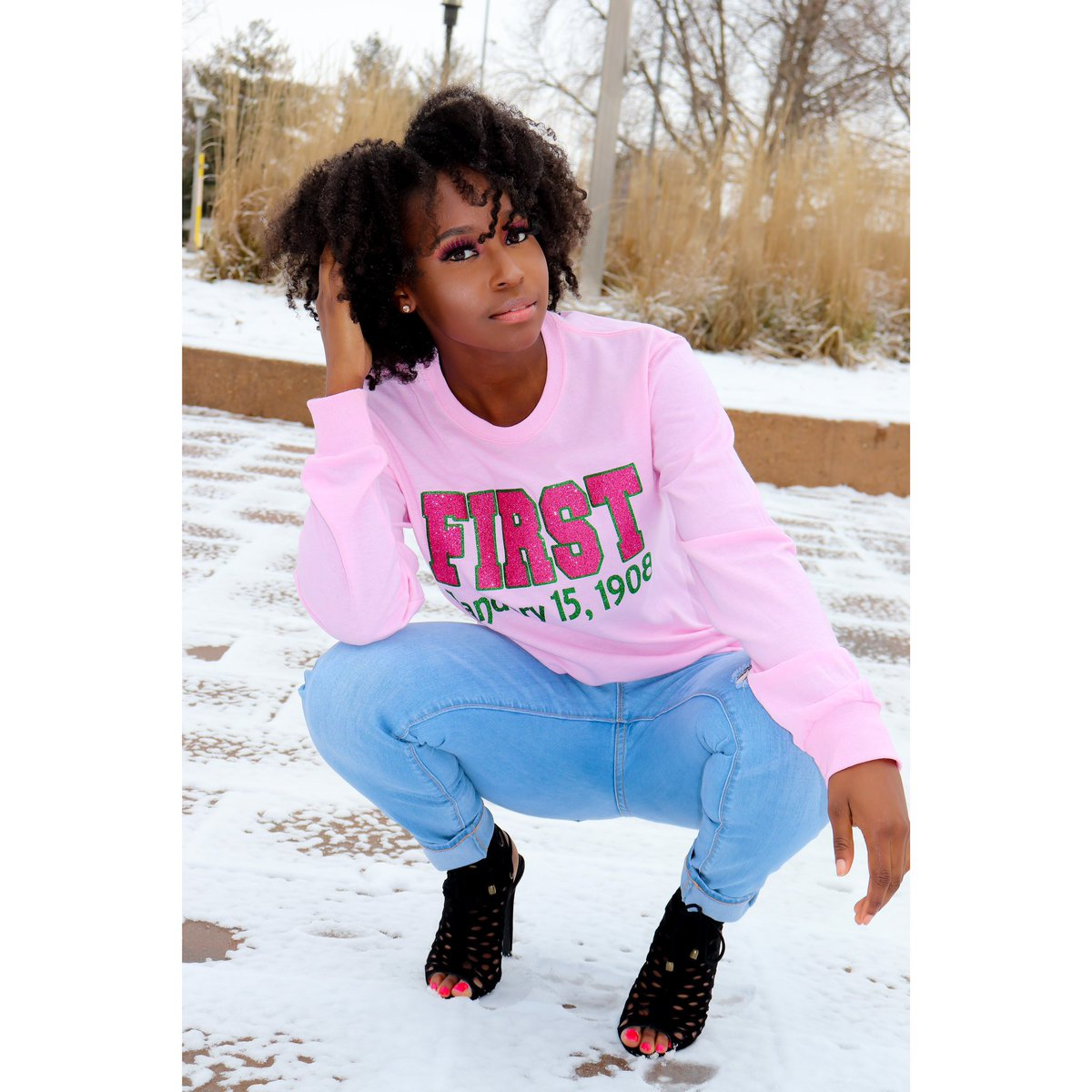 Happy Founders Day to All the Beautiful Women of Alpha Kappa Alpha Sorority Inc. Also Today means a lot to me to be apart of such a Prestigious Sorority.  The Journey of becoming apart of the 1st Sorority Alpha Kappa Alpha Sorority Inc.  was a great experience! #SkeeWee 💕💚