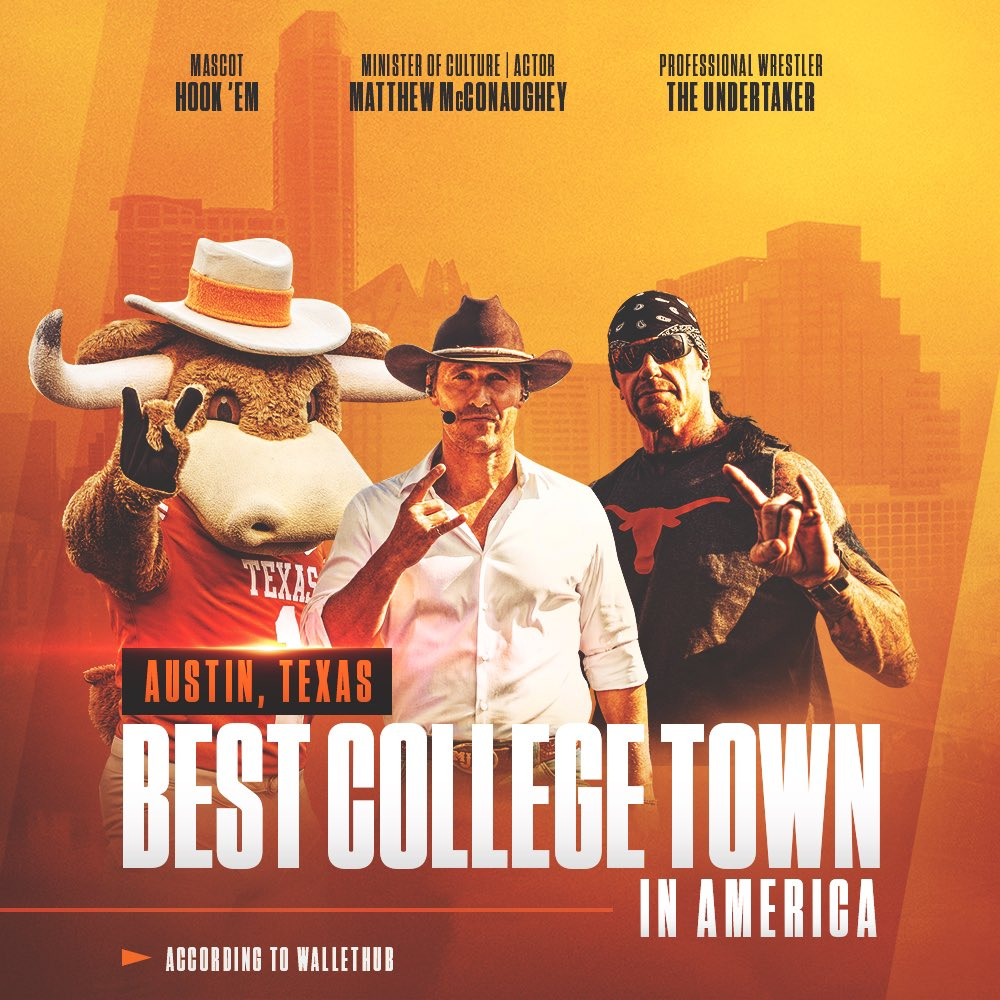Austin, Texas. Best College Town In America.   #ThisIsTexas #HookEm <br>http://pic.twitter.com/3gRcVlMy0H