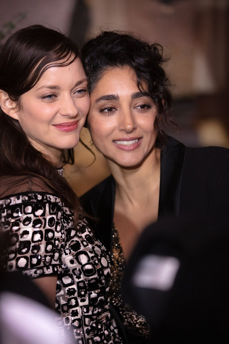 CHANEL at the César Awards — friends of the House Marion Cotillard, Golshifteh Farahani,  Nadia Tereszkiewicz, Gaspard Ulliel and Maud Wyler, attended the 2020 'César Révélations' dinner at the Petit Palais in Paris wearing CHANEL. #CHANEL #CHANELinCinema #Cesar2020