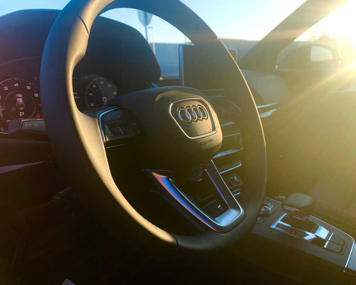 When golden hour hits just right. Sneak peek of this #CaroftheWeek.  Can you guess the Audi model? #AudiAllentownpic.twitter.com/PSX3Wyp1Ur
