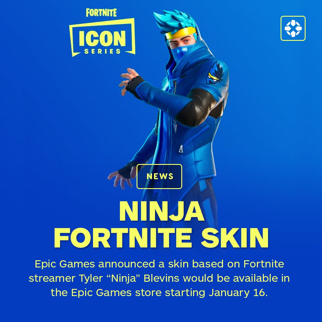 Ign On Twitter The Ninja Fortnite Skin Set Includes A Ninja Outfit Ninja S Edge Back Bling A Victory Dance Called The Pon Pon And The Dual Katanas Pickaxe Https T Co Wcqtmityrk