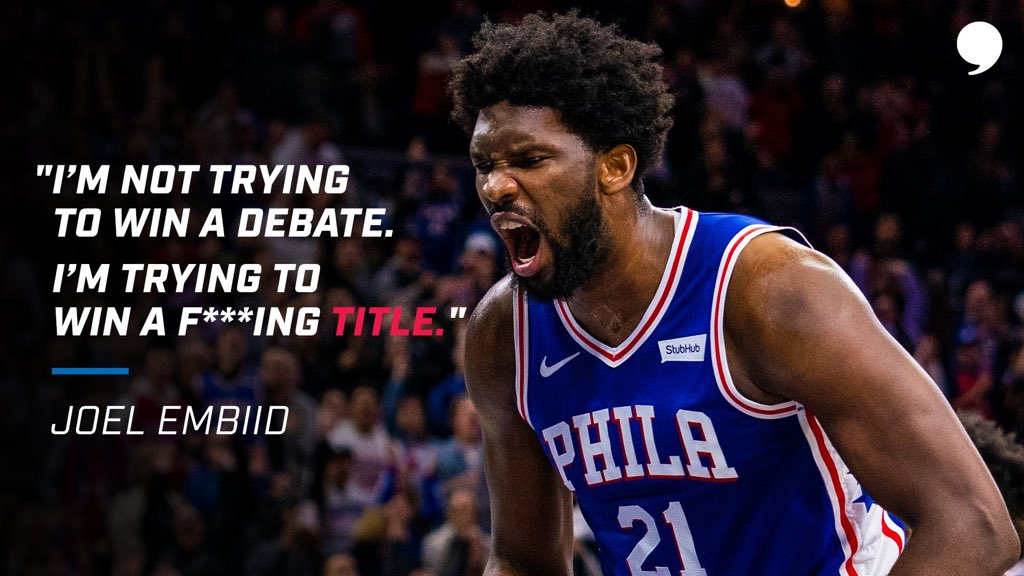 Are the @sixers on the road to the @NBA Finals? 👀 📝: playerstribu.ne/Embiid21
