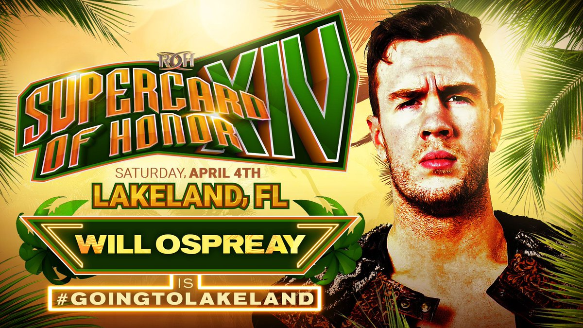 Will Ospreay Returning To ROH, Meet Sting, Killer Kross MLW Debut, Win Trip To Bruggadown Barbados