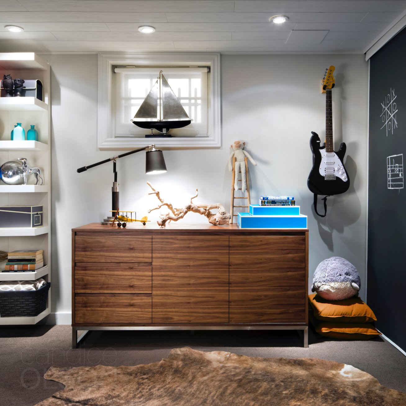 Candice Olson On Twitter No Matter What Age A Child S Space Should Be Comfortable And Inspire Creativity Basementdesign Bedroomdesign
