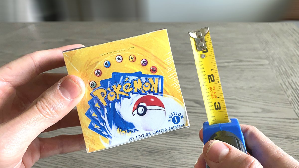 World's SMALLEST Pokemon Cards Box Opening! youtube.com/watch?v=YgvPGB…