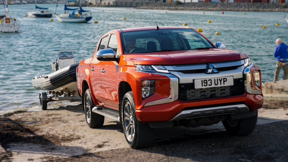 With a 3.5 tonne towing capacity there's no need to leave the boat behind. #L200  More at: