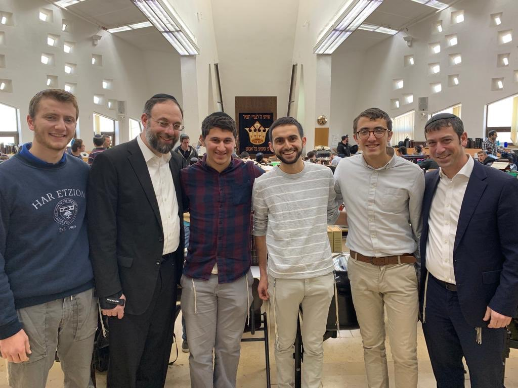 It was another great day in Israel! @RabbiJoshKahn and Rabbi Shulman caught up with our alumni at @GushEtzion and @Reishit, while Rabbi Kerner visited our talmidim at Makor Chaim. #lions4life #mtaalumni #makorchaim #onlyatmtapic.twitter.com/Z9jdOgJdwz