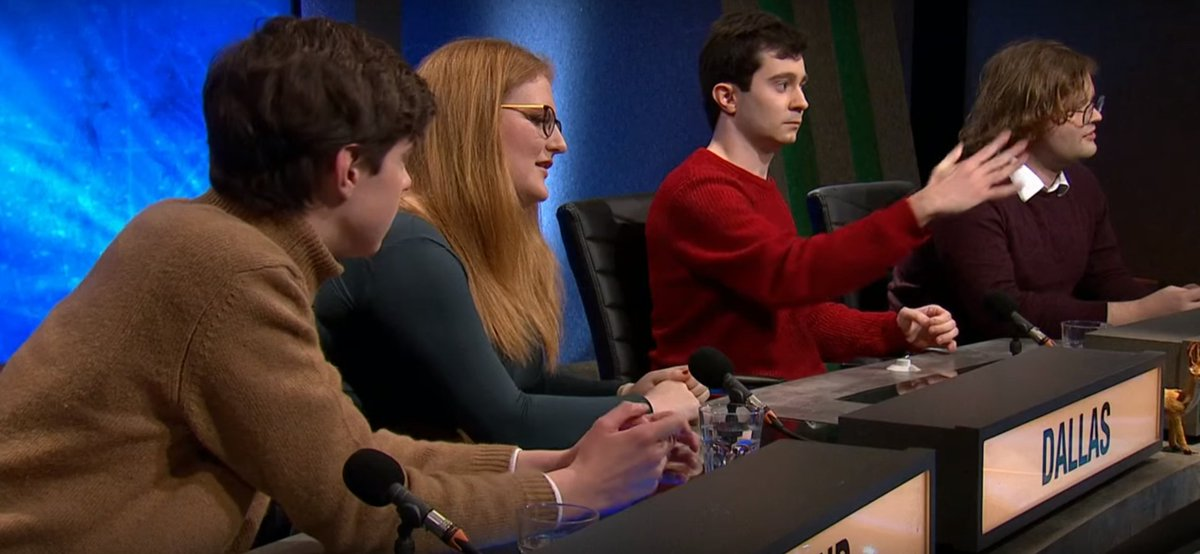 Monday 20th January, 8:30pm, BBC2: @magdalenoxford is playing in Round 2 of #UniversityChallenge! Tune in to see us answer more questions and me being Very Normal.PS: if you missed our Round 1 win, you can catch up here https://youtu.be/pVpd4fSbxuE