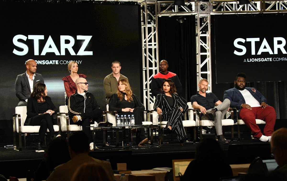 Our talented cast had a full day at #TCA20 introducing all things #Hightown! We're excited to welcome you to the Cape this spring on @starz.<br>http://pic.twitter.com/Mhsd6oTR9g