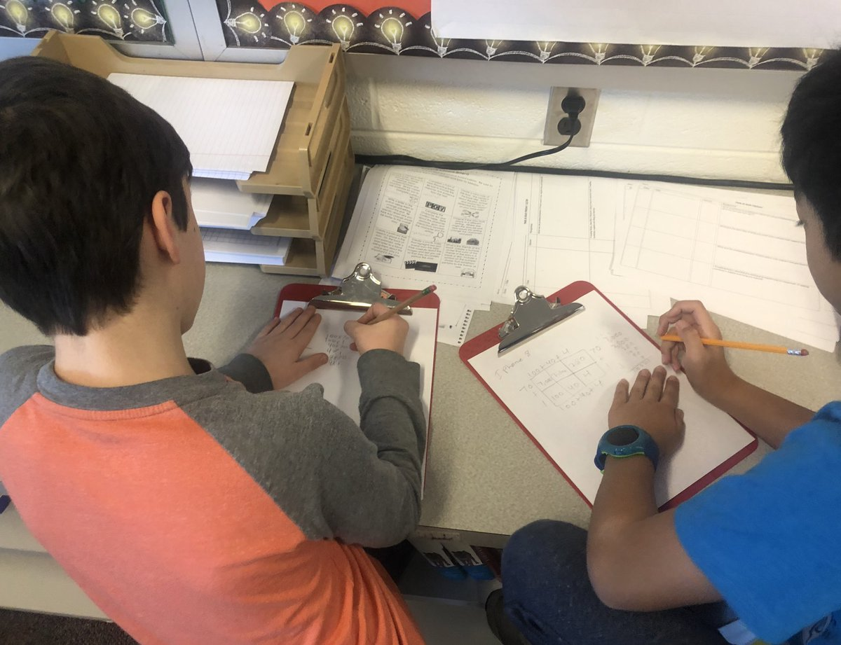 We worked with partners today on a decimal multiplication project to create dimensions for a new cell phone <a target='_blank' href='http://search.twitter.com/search?q=hfbtweets'><a target='_blank' href='https://twitter.com/hashtag/hfbtweets?src=hash'>#hfbtweets</a></a> <a target='_blank' href='http://twitter.com/HFBMath'>@HFBMath</a> <a target='_blank' href='https://t.co/AwbIapGiMi'>https://t.co/AwbIapGiMi</a>
