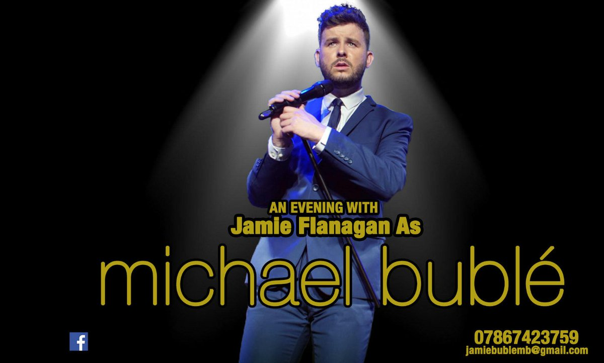 Join us for our Michael Buble Tribute Night Dinner on Saturday 29th February.  Chef has created a fabulous 3 course dinner to enjoy whilst we are entertained by Jamie Flanagan As Michael Bublé Table bookings now being taken, please call 01572 822477. pic.twitter.com/ygSxFlPjwl