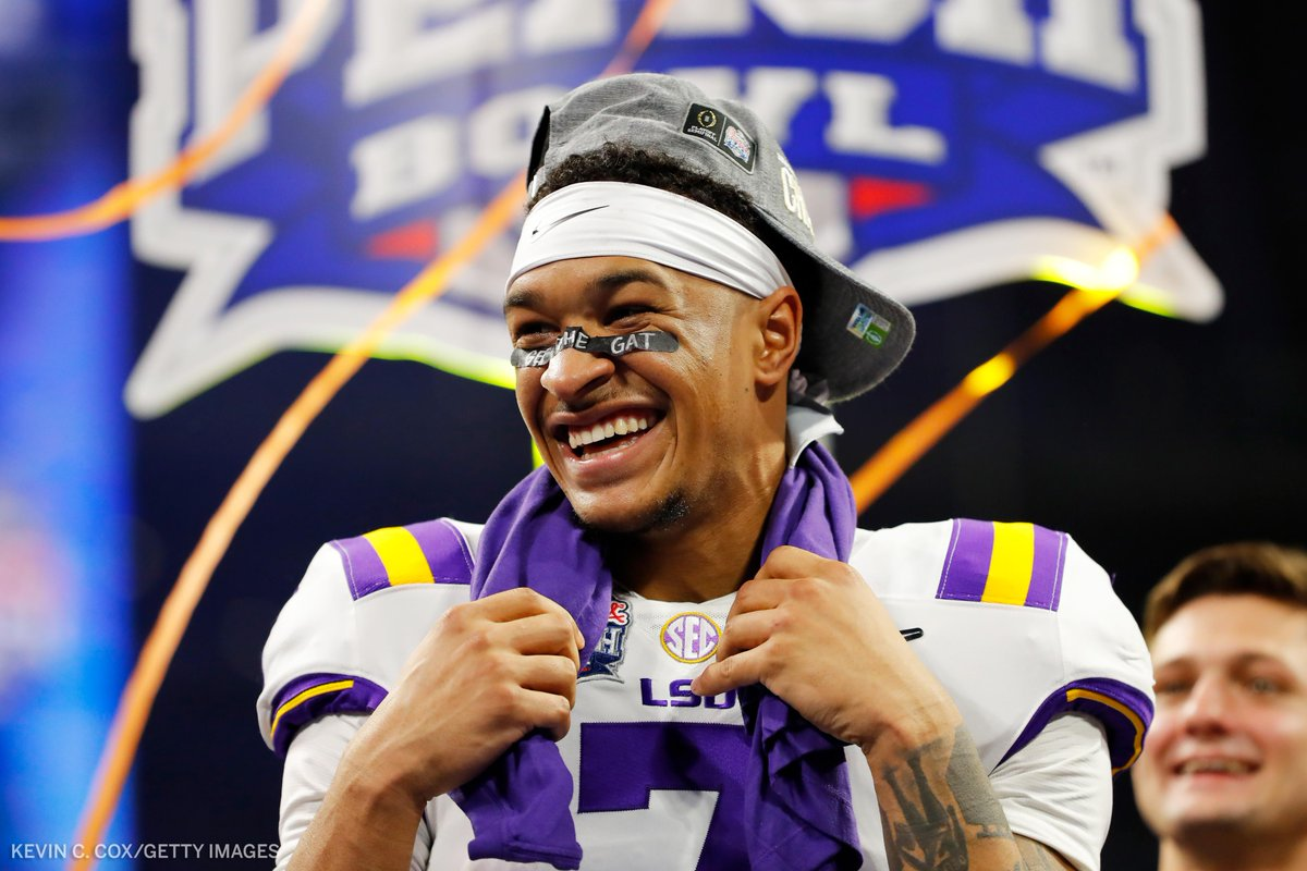 LSU safety Grant Delpit will declare for the NFL Draft, he announced on Twitter.