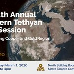 Image for the Tweet beginning: Heading to #PDAC2020 this March?