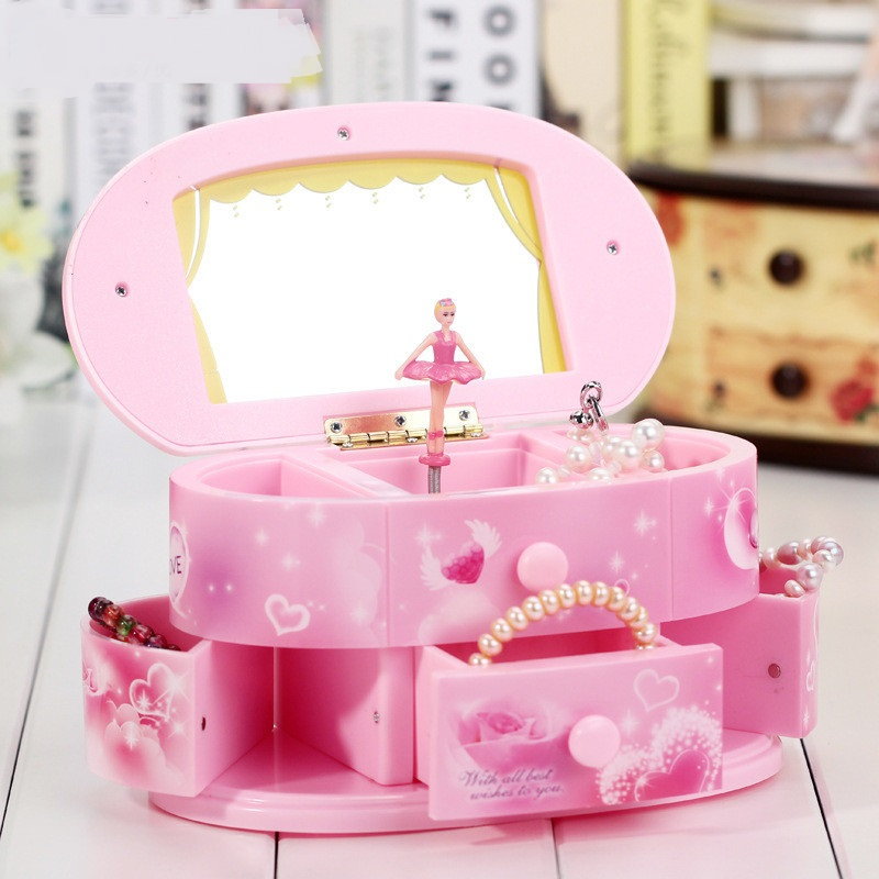 Dancing Ballerina Storage Jewelry Box // Shop:  #Jewelry #JewelryBoxes #Awessories