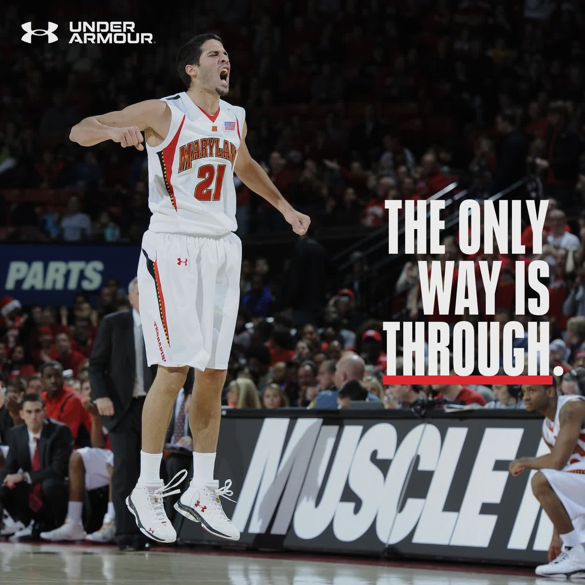 He came from Caracas with a dream He left College Park as a legend   @greivisvasquez embodies the motto    #TheOnlyWayIsThrough | @UnderArmour<br>http://pic.twitter.com/oyadbRWkCa