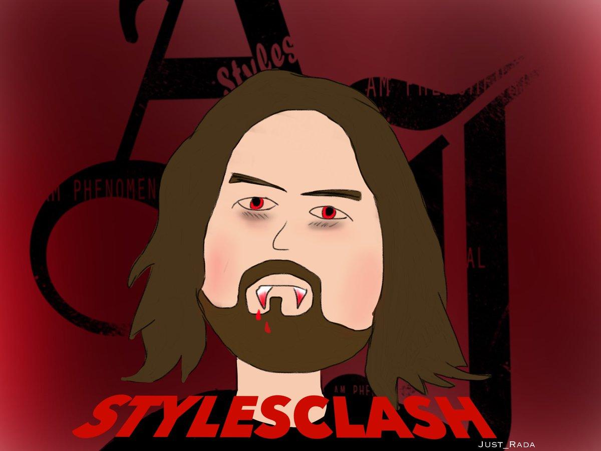 Vampire Aj @AJStylesOrg #STYLESCLASH