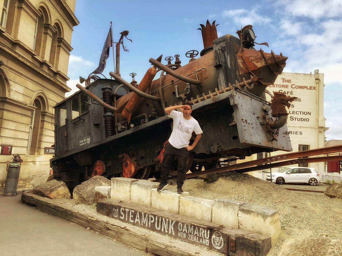 #Places Awesome of the Day: #Steampunk ⚙️ #Roadtrip in #Oamaru #NewZealand 🇳🇿 via @pedrotochas #SamaPlaces  🗺️