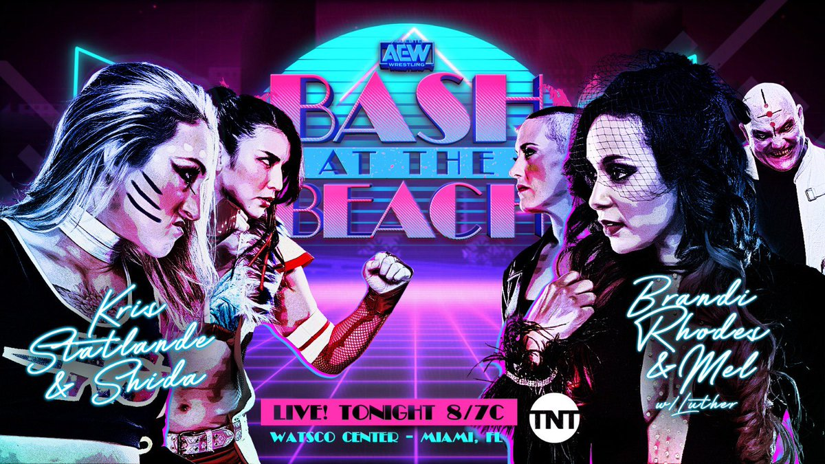 "AEW Confirms Late Change For Match Scheduled For ""Bash At The Beach"" Dynamite Show Tonight"